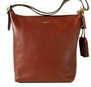 Coach Legacy Duffle Leather Shoulder Bag